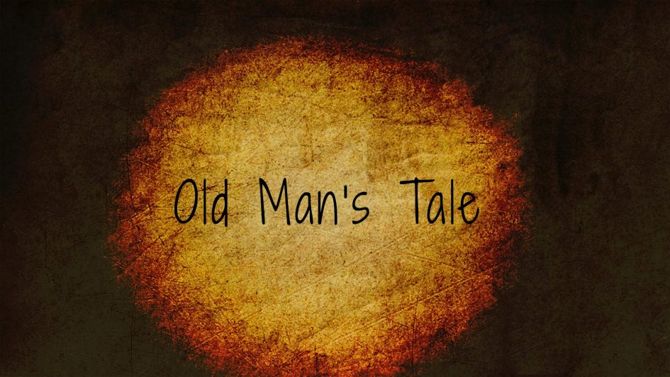 Couverture d'Old Man's Tale.